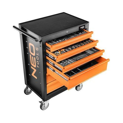 NEO 84-222+G Szafka warsztatowa 7 szuflad z 10 wkładkami, 84-222+G