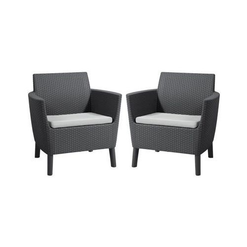 Fotele ogrodowe SALEMO 2 szt. KETER (3253921816022)