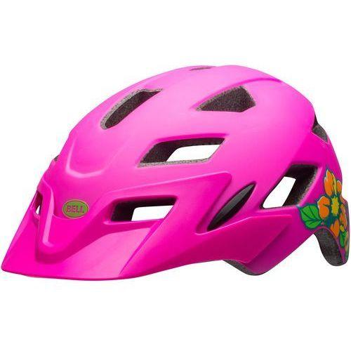 Bell kask rowerowy dziecięcy sidetrack child mat pink blossom 47–54 cm