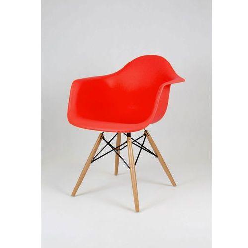 Krzesło SK DESIGN KR012F buk czerwone