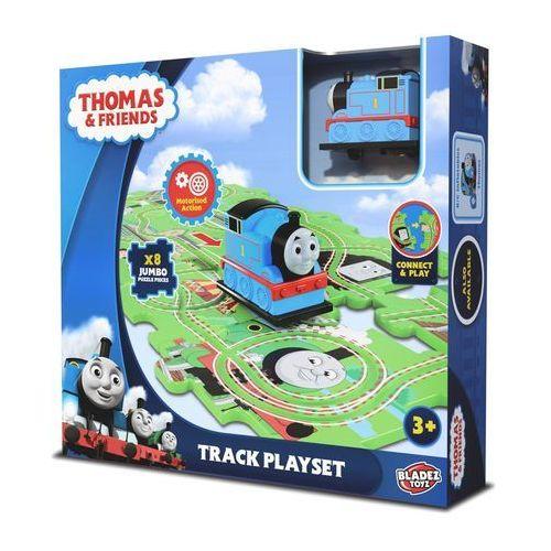 Puzzle plastikowe z jeżdzącą figurką tomek i przyjaciele marki Bladez toyz