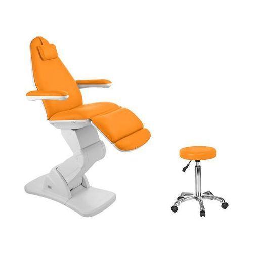 Activ Fotel kosmetyczny elektr. 2244 pomarańczowy