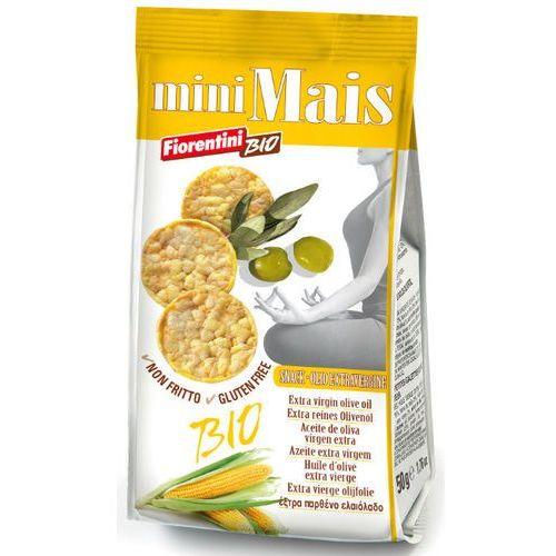 Krążki kukurydziane z oliwą z oliwek extra virgin bio 50g - , marki Florentini bio