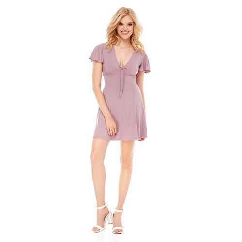 Sukienka nika w kolorze cappuccino, Sugarfree, 34-40