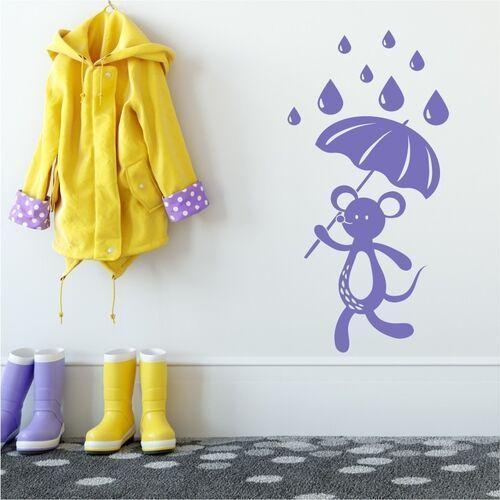 Naklejka na ścianę dla dzieci myszka 2270 marki Wally - piękno dekoracji