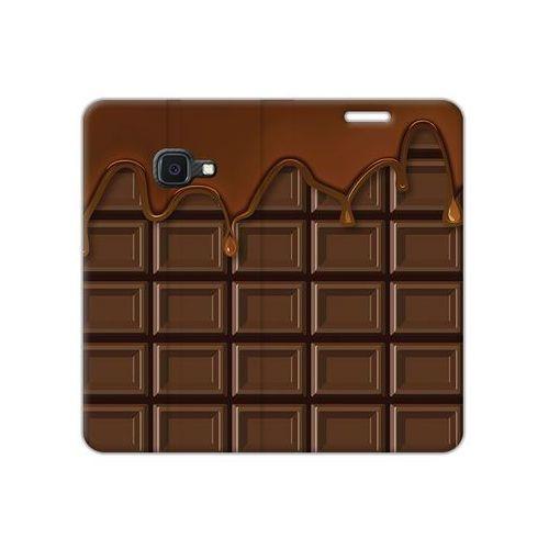 Samsung Galaxy Xcover 4S - etui na telefon Flex Book Fantastic - tabliczka czekolady, ETSM941FBFCFB070000