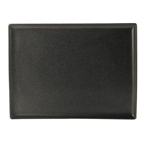 Fine dine Półmisek prostokątny 350x250 mm | , coal