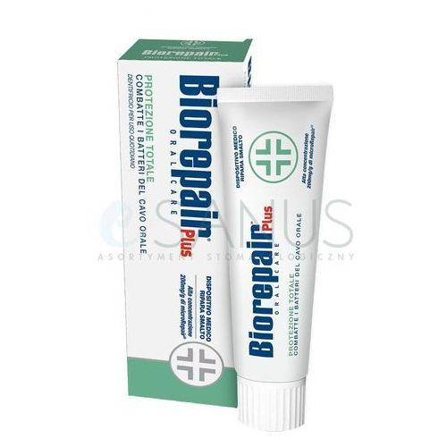 Biorepair plus protect pasta do zębów wzmacniająca szkliwo (tooth enamel protecting toothpaste) 75 ml
