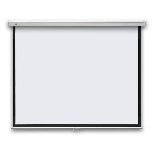 2x3 Ekran projekcyjny pop manualny, ścienny 195x145 cm (4:3)