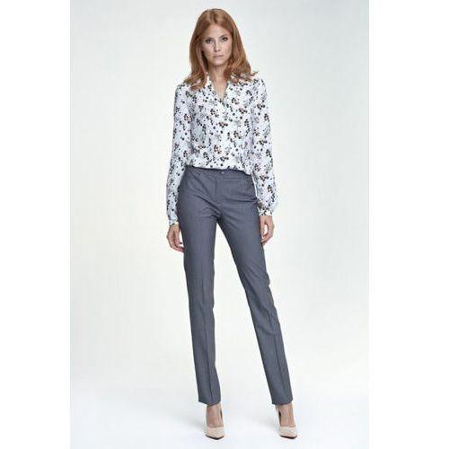 Eleganckie spodnie SD25 szary, kolor szary