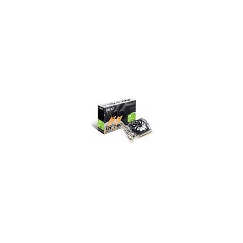 Karta graficzna MSI GT 730 OC 2GB DDR3 (64 bit), DVI-D, HDMI, VGA, BOX (N730K-2GD3/OCV1) Darmowy odbiór w 21 miastach!