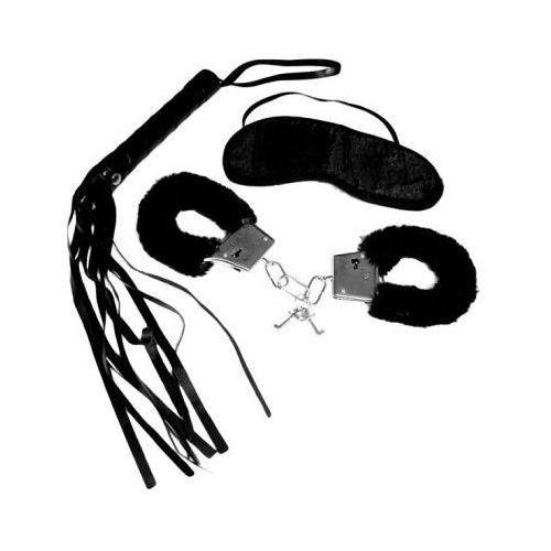 Zestaw bdsm dla początkujących - s&m intro to s&m kit black marki Sex&mischief