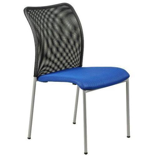 Stema - hn Krzesło konferencyjne hn-7502a/niebieski-czarny krzesło biurowe