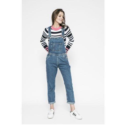 Tommy Jeans - Ogrodniczki Dungaree, jeans