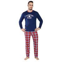 Piżama męska RAMZES Italian Fashion - Granatowy (5903939278296)
