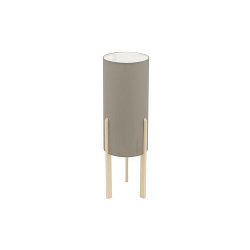 Lampka Eglo Campodino 97894 stołowa nocna 1x60W E27 brązowa/ ciemno szara H-500mm