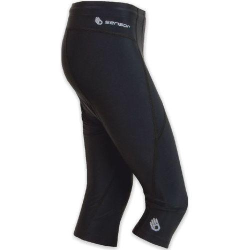 damskie spodenki rowerowe z nogawkami 3/4 cyklo entry black marki Sensor