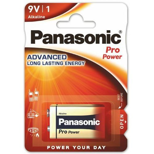 Panasonic 1 x pro power 6lr61/9v (blister)