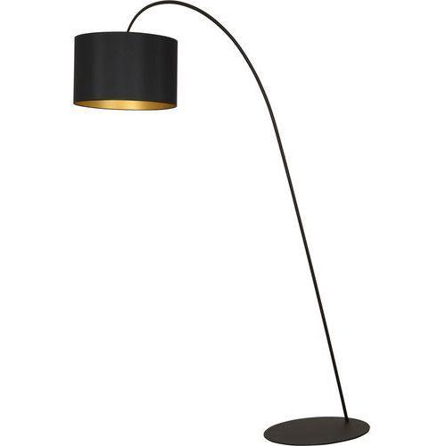 Lampa podłogowa Nowodvorski Alice 4963 z abażurem 1x100W E27 czarna >>> RABATUJEMY do 20% KAŻDE zamówienie!!! (5903139496391)