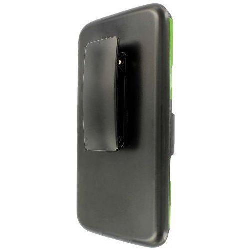Empire Mpero impact xt series kickstand case etui futerał na telefon komórkowy and belt holster for lg g2 – czarna/neonowa zieleń