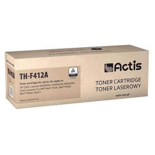 Actis Toner th-f412a (do drukarki hewlett packard, zamiennik 410a cf412a standard 5000str. yellow chip)