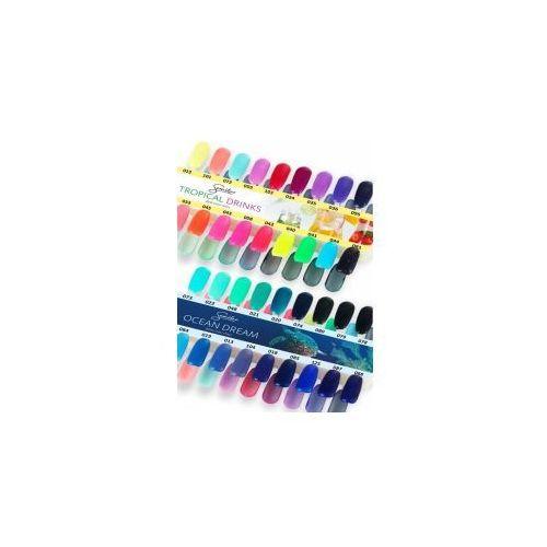 Wzornik do lakierów Semilac z kolekcji Ocean Dream i Tropical Drinks z kategorii Lakiery do paznokci