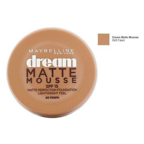Maybelline dream matte mousse spf15 18ml w podkład 40 fawn (3600530170012)