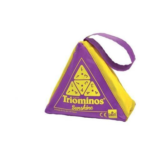 Triominos sunshine - fioletowy - games marki Goliath