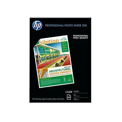 Papier fotograficzny professional laser cg966a a4/200g błysk marki Hp