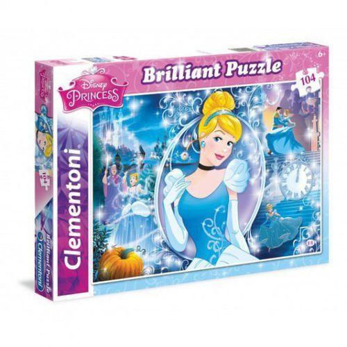 Clementoni 104 el. brilliant cinderella (8005125201327)