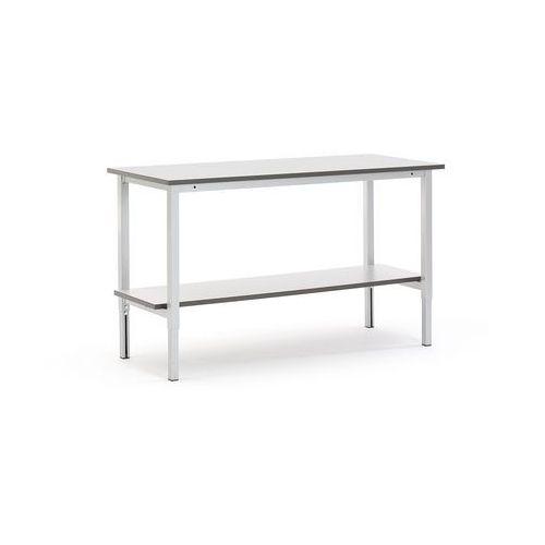 Aj produkty Stół roboczy motion, z ręczną regulacją wysokości, półka dolna, 1500x600 mm