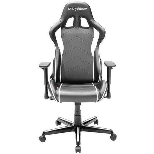 Dxracer krzesło obrotowe formula fh08/nw, czarne/białe (fh08/nw) (6949531964662)