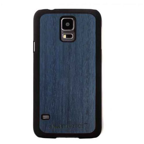 Etui SmartWoods – Blue Sky Galaxy S5 Mini, kolor niebieski