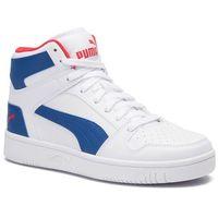 Sneakersy PUMA - Rebound Layup Sl Jr 370486 05 White/Galaxy/Blue/Red