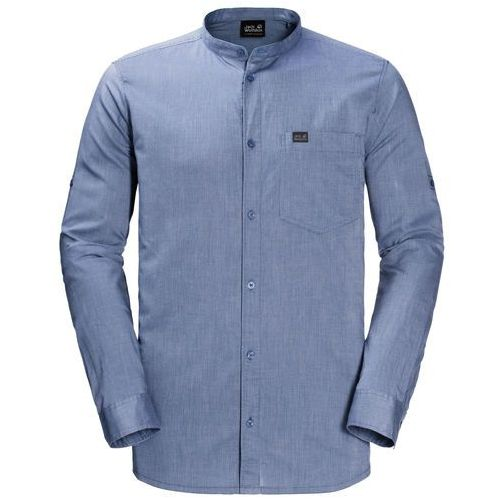 Koszula indian springs shirt men - dusk blue stripes, Jack wolfskin