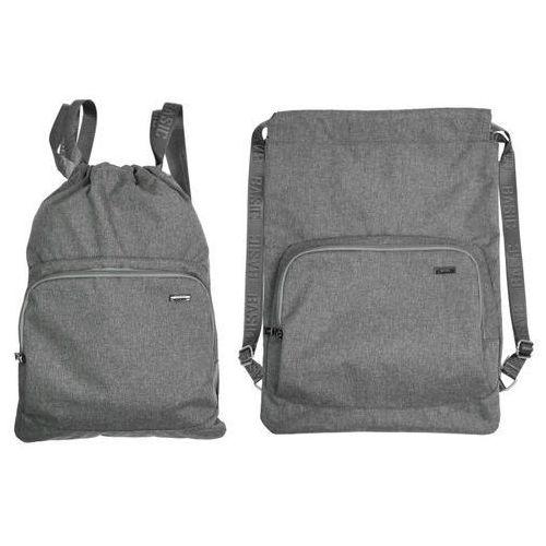 Worko-plecak Basic szary