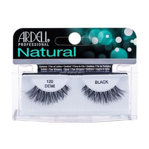Ardell natural demi 120 sztuczne rzęsy 1 szt dla kobiet black (4074764620101)