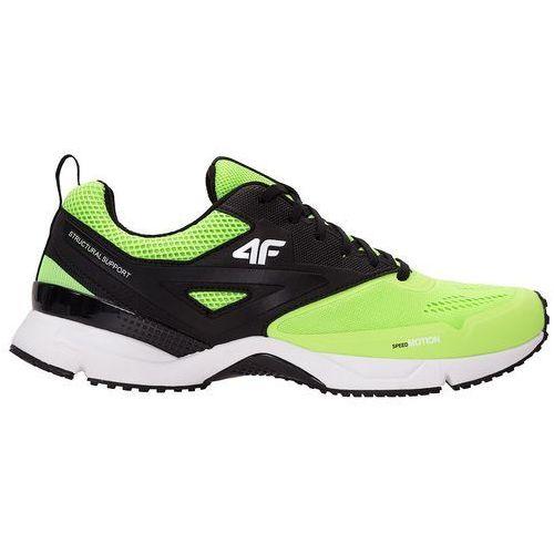 Buty do biegania męskie obms100 zielony neon marki 4f