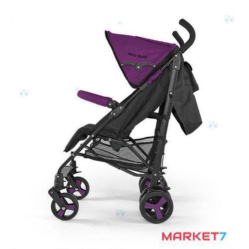 Wózek spacerowy royal fioletowy #b1 marki Milly-mally
