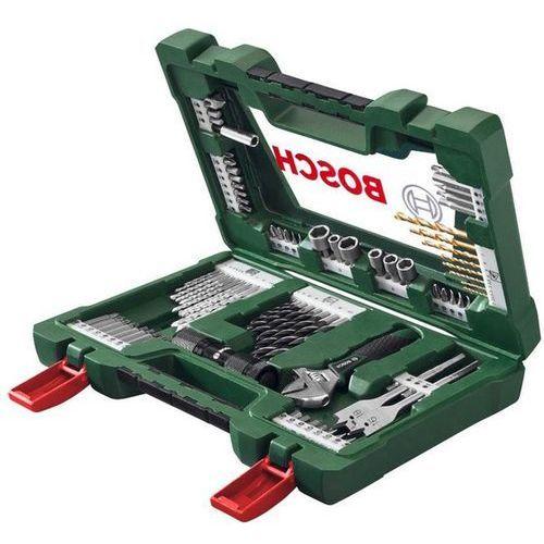 Zestaw BOSCH V-Line Titanium (83 elementy) - produkt z kategorii- Zestawy narzędzi ręcznych