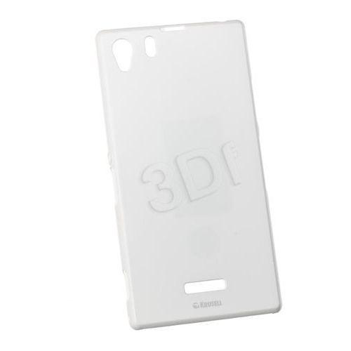 Pokrowiec KRUSELL Flipcover Malmo Sony Xperia Z1 White, kolor biały