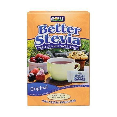 Now Foods Better Stevia 100 saszetek po 1g