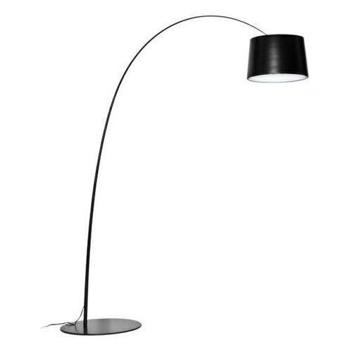 Sofa.pl Lampa podłogowa cleo czarna - włókno szklane, metal