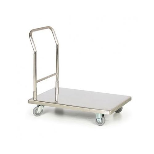 B2b partner Nierdzewny wózek platformowy