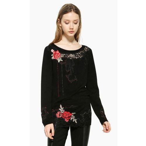 Desigual sweter damski Sorpresa S czarny