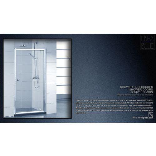 Drzwi prysznicowe an6211e 800mm marki Axiss glass