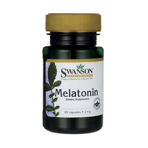 Swanson Melatonina 3mg 60 kaps.