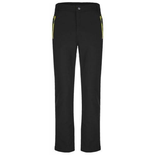 Loap męskie spodnie softshell urian czarny l (8592946683277)