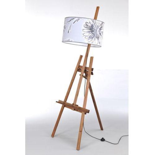 Lampa stojąca sztaluga dark wood nr 2466 marki Namat