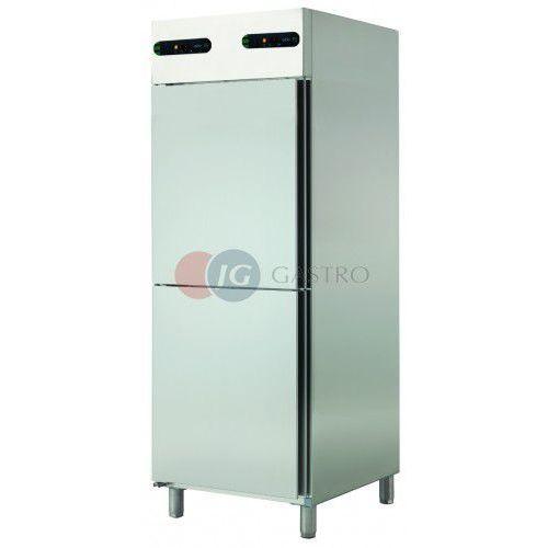 Szafa chłodnicza dwutemperaturowa 2x1/2 drzwi 2x350 l ECP-702/2 R (szafa chłodnicza)